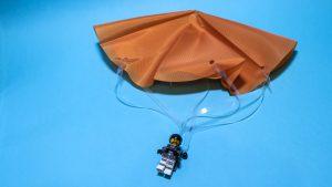 Parachute On Blue 300x169