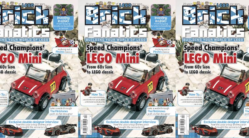 Brick Fanatics Magazine Issue 4 Cover Title