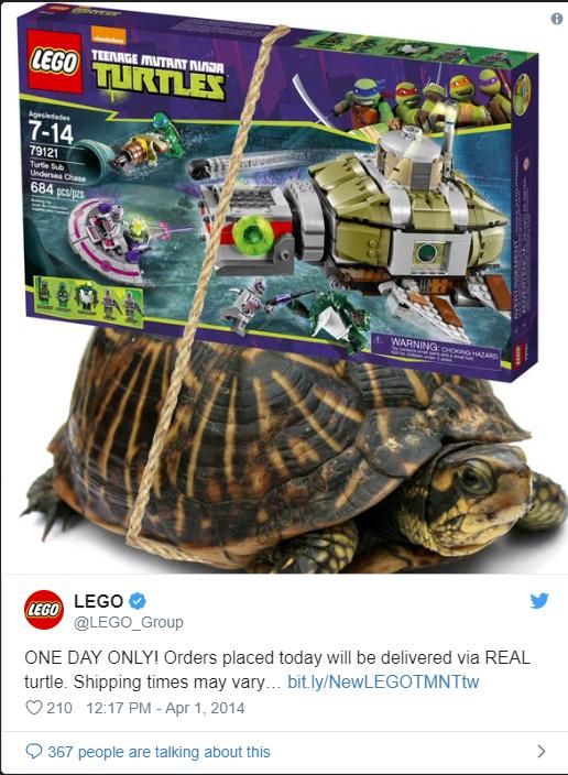 LEGO April 1 A