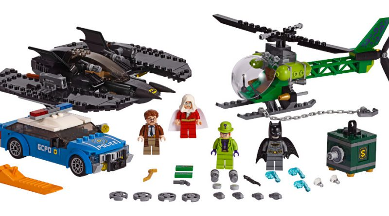 LEGO Batman 76120 Batwing And The Riddler 800x445