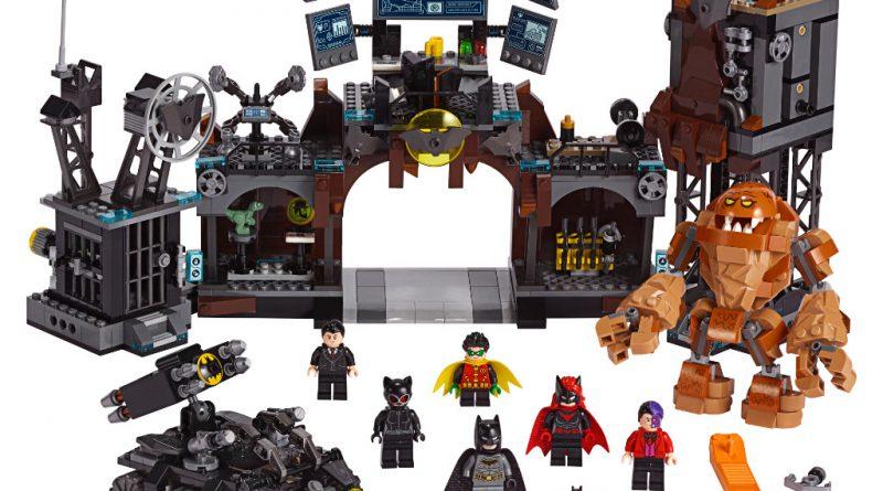 LEGO Batman 76122 Batcave ClayfaceInvasion 800x445
