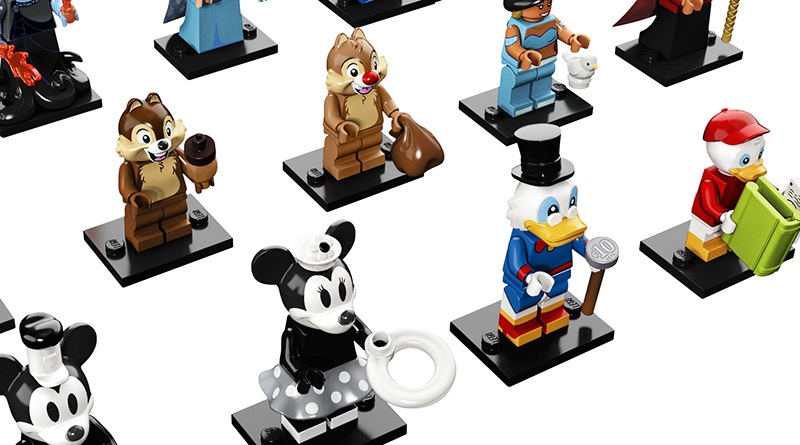 LEGO Collectible Minifigures 71024 Disney Series 2 Featured