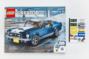 LEGO Creator Expert 10256 Ford Mustang 13 300x200
