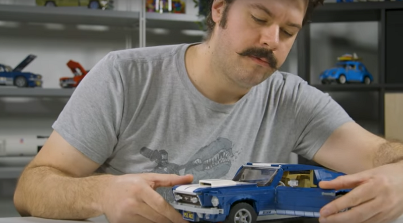 LEGO Ford Mustang Video Featured 800 445 800x444