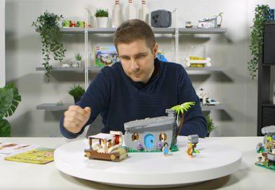 LEGO Ideas 21316 The Flintstones designer video