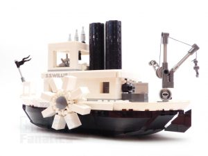 LEGO Ideas 21317 Steamboat Willie 26 300x225