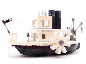 LEGO Ideas 21317 Steamboat Willie 27 300x225