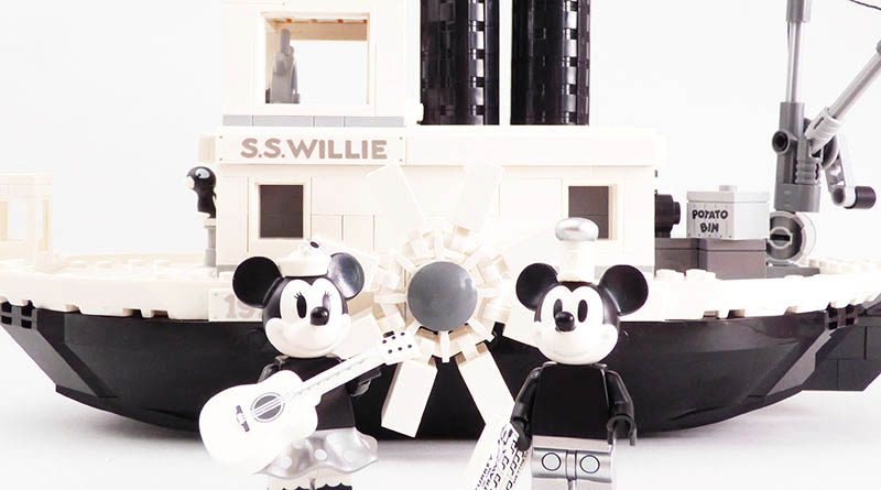 LEGO Ideas 21317 Steamboat Willie Featured 800 445