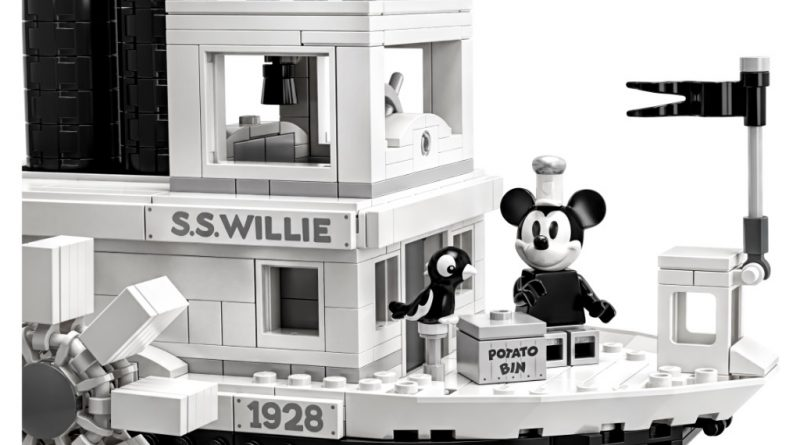 LEGO Ideas 21317 Steamboat Willie Official 10 800x445