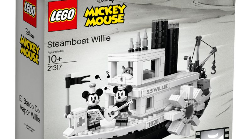 LEGO Ideas 21317 Steamboat Willie Official 11 800x445