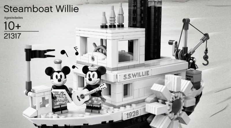 LEGO Ideas 21317 Steamboat Willie Official 13 800x445