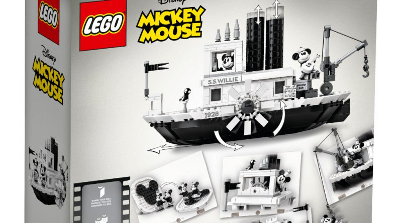 LEGO Ideas 21317 Steamboat Willie Official 15 800x445