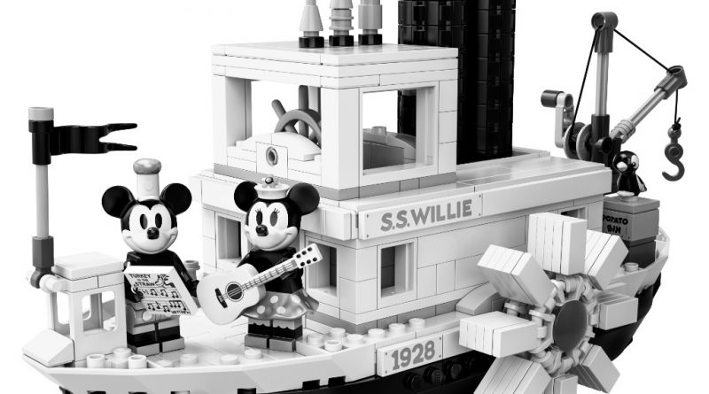 LEGO Ideas 21317 Steamboat Willie Official 16 800x445
