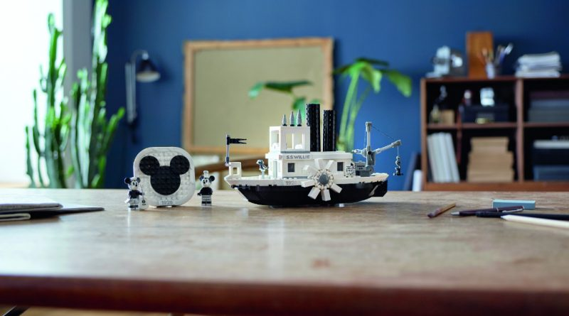 LEGO Ideas 21317 Steamboat Willie Official 19 800x445