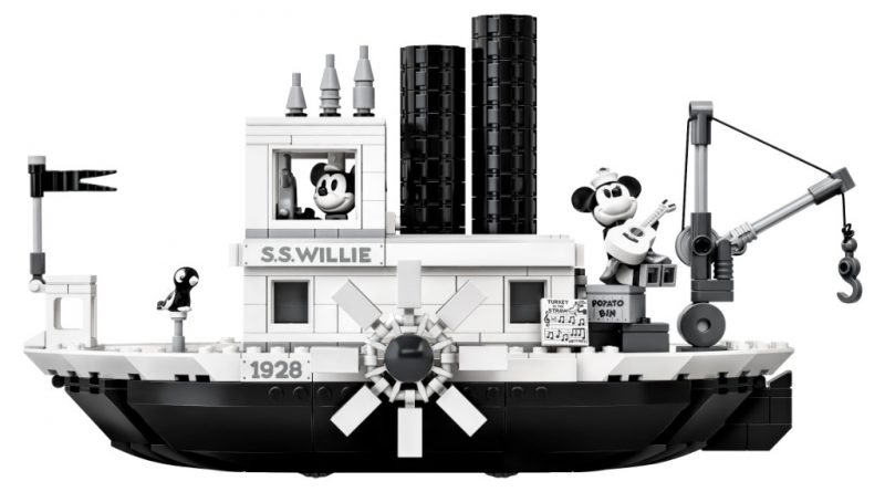 LEGO Ideas 21317 Steamboat Willie Official 2 800x445