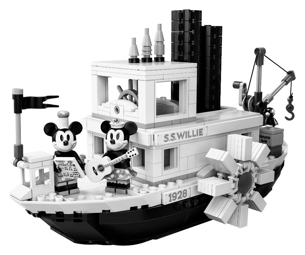 LEGO Ideas 21317 Steamboat Willie Official 20 1024x855