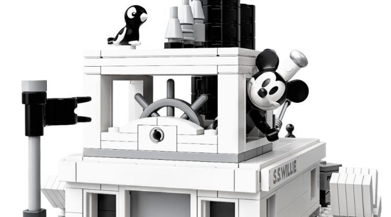 LEGO Ideas 21317 Steamboat Willie Official 6 800x445