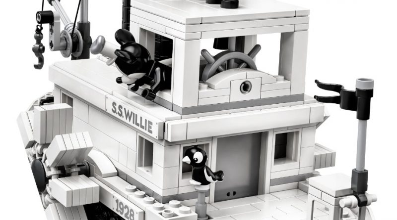 LEGO Ideas 21317 Steamboat Willie Official 8 800x445