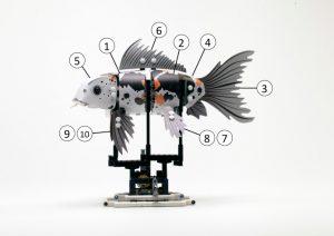 LEGO Koi Numbers 300x212