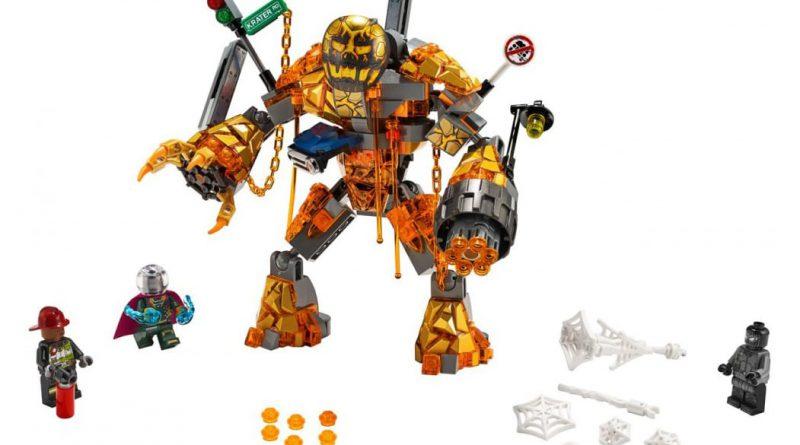 LEGO MArvel Spider Man 76128 Molten Man Battle 2 800x445