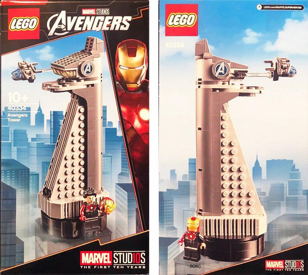 LEGO Marvel 40334 Avengers Tower 1024x913