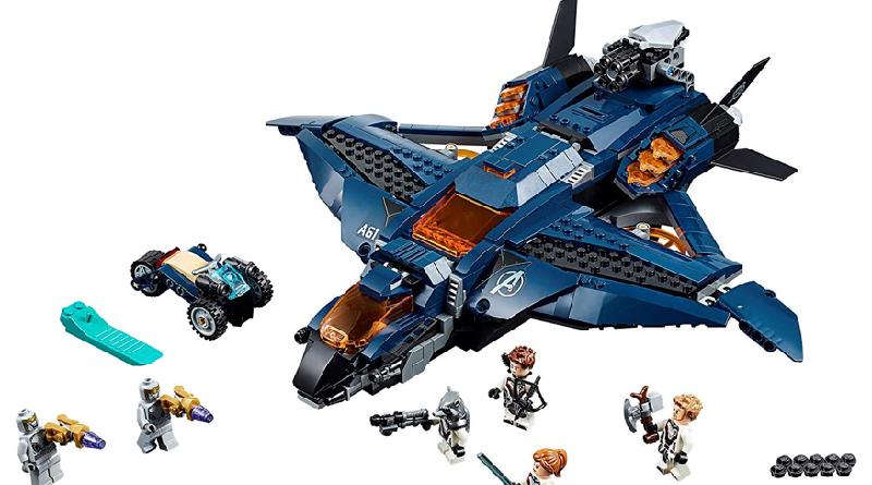 LEGO Marvel Avengers 76126 Avengers Ultimate Quinjet featured