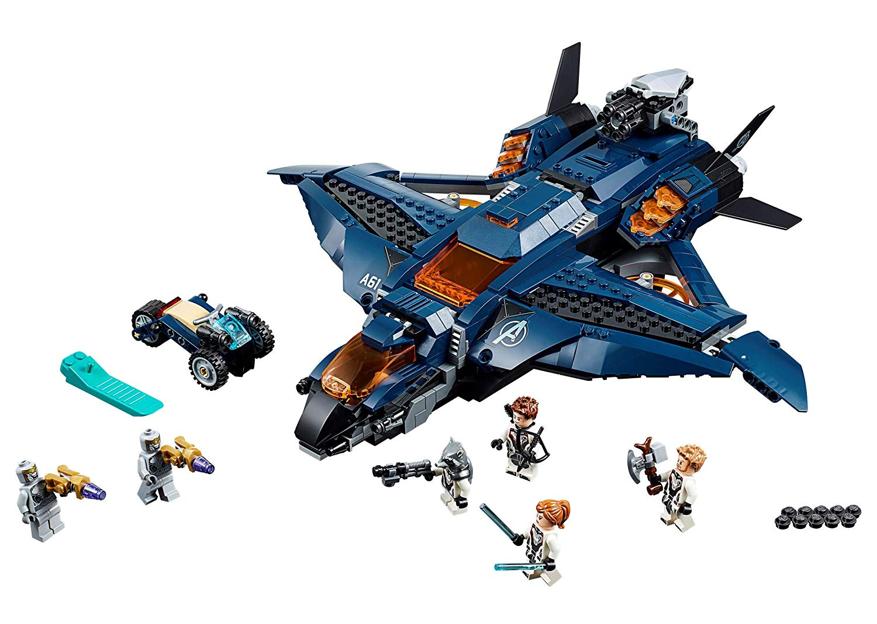 First Lego Marvel Avengers Endgame Sets Revealed