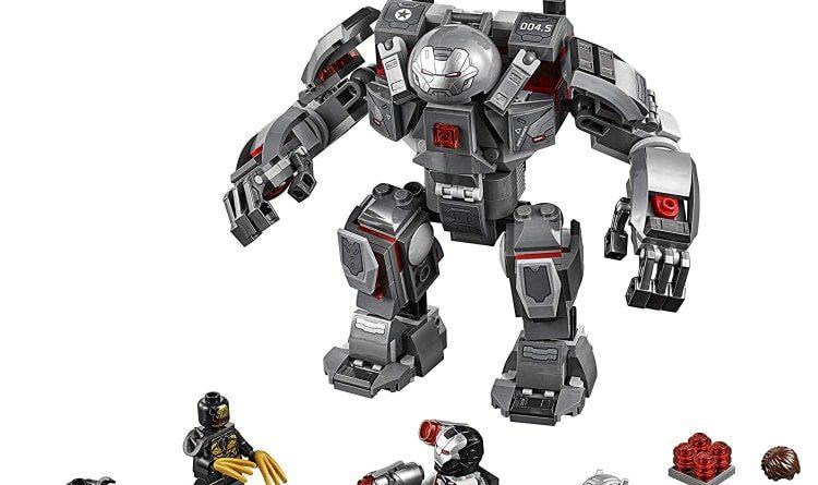 LEGO Marvel Avengers Endgame 76124 War Machine Buster 750x445