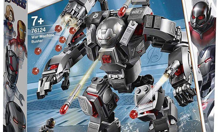 LEGO Marvel Avengers Endgame 76124 War Machine Buster Box 750x445
