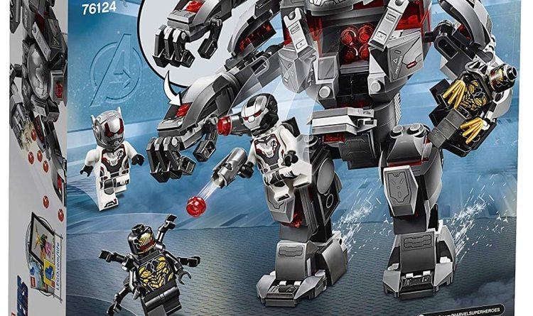 LEGO Marvel Avengers Endgame 76124 War Machine Buster Box Back 750x445