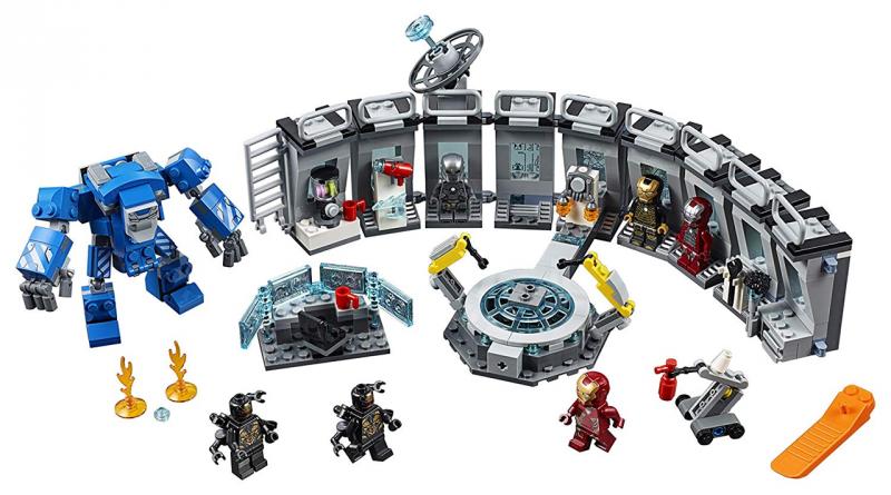 LEGO Marvel Avengers Endgame 76125 Iron Man Hall Of Armour 800x445