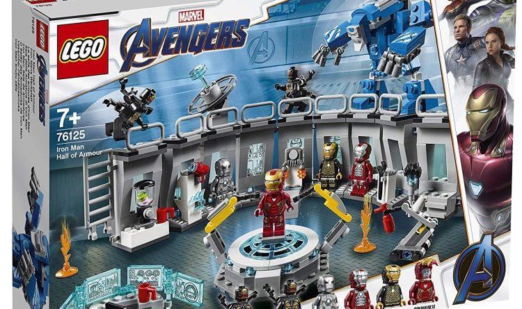LEGO Marvel Avengers Endgame 76125 Iron Man Hall Of Armour Box 750x445