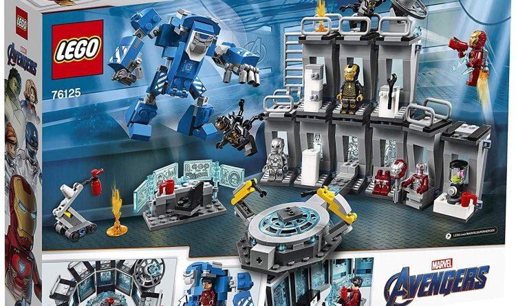 LEGO Marvel Avengers Endgame 76125 Iron Man Hall Of Armour Box Back 750x445