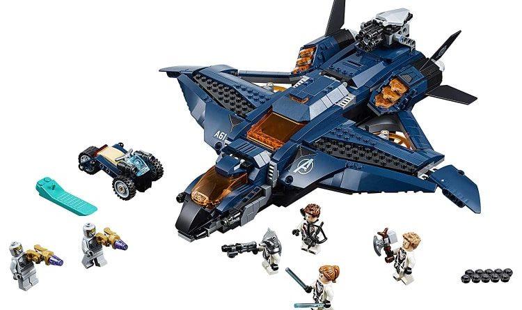 LEGO Marvel Avengers Endgame 76126 Ultimate Avengers Quinjet 750x445
