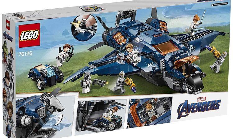 LEGO Marvel Avengers Endgame 76126 Ultimate Avengers Quinjet Box Back 750x445