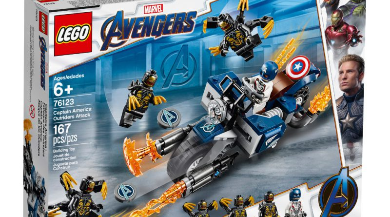 LEGO Marvel Avengers Endgame Sets 1 800x445