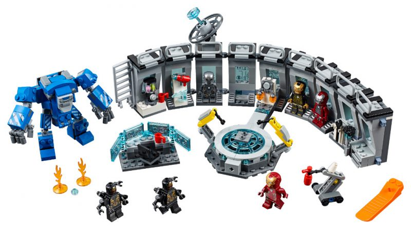 LEGO Marvel Avengers Endgame Sets 10 800x445