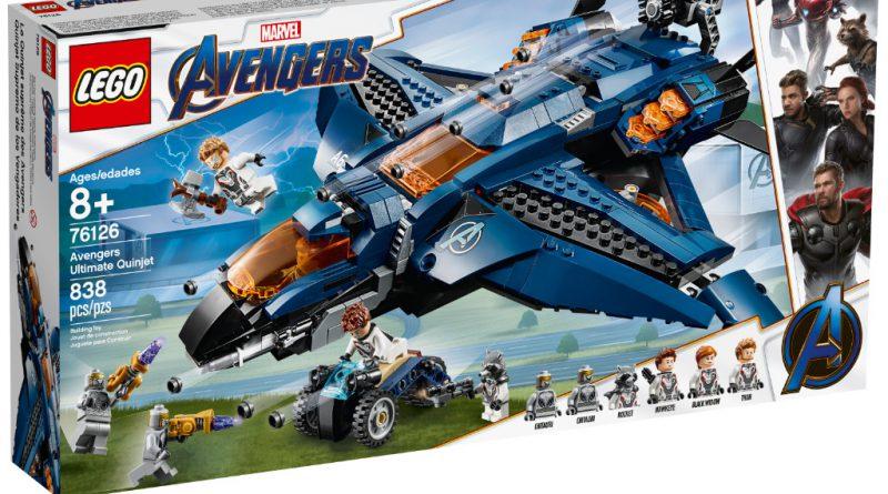 LEGO Marvel Avengers Endgame sets 12