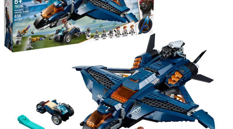 LEGO Marvel Avengers Endgame sets 13