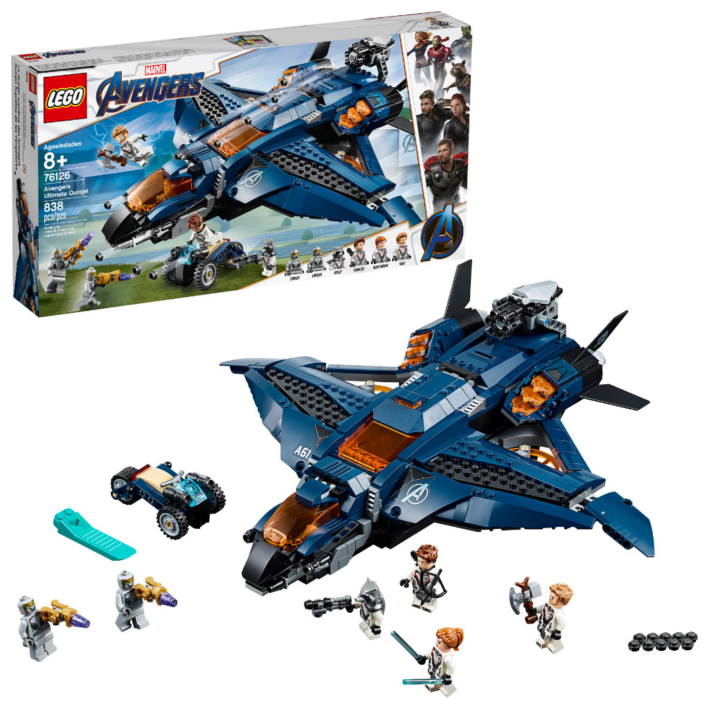 LEGO Marvel Avengers Endgame Sets 13