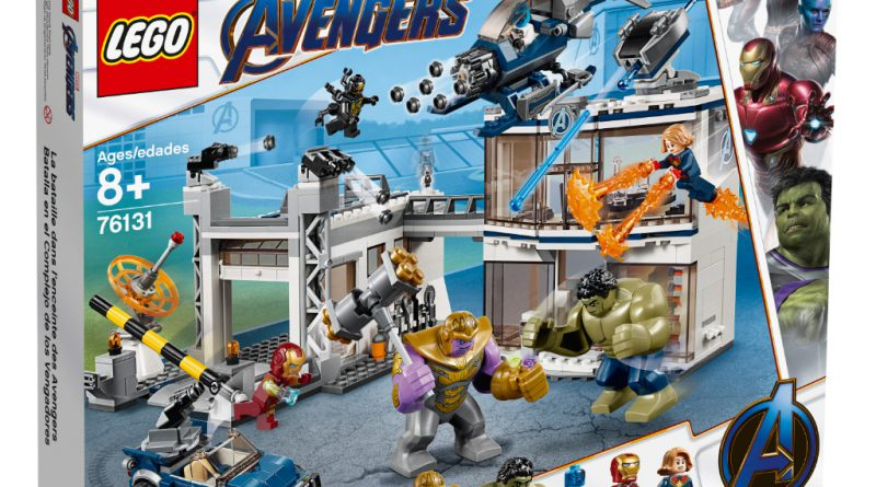 LEGO Marvel Avengers Endgame Sets 16 800x445