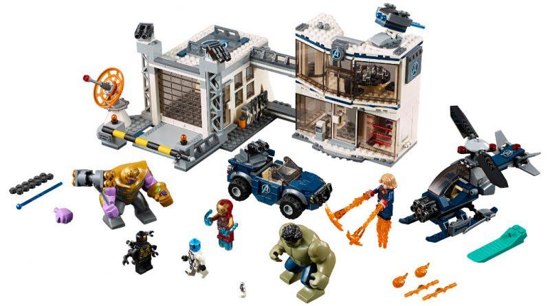 LEGO Marvel Avengers Endgame sets 18