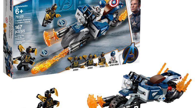 LEGO Marvel Avengers Endgame sets 2