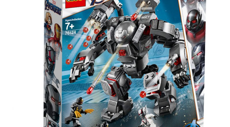 LEGO Marvel Avengers Endgame sets 5