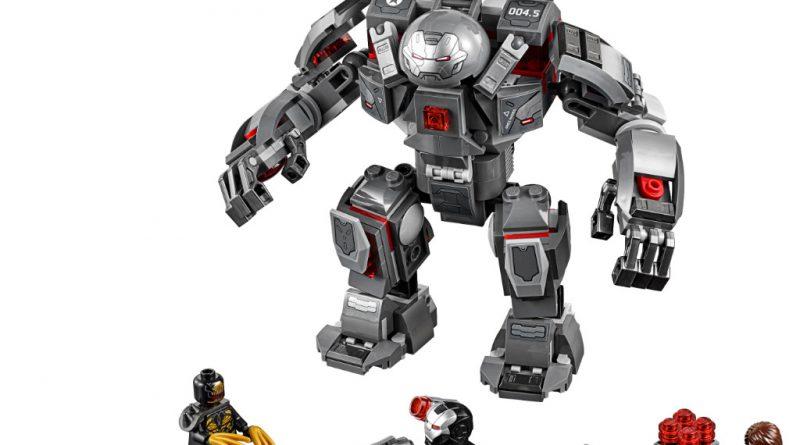 LEGO Marvel Avengers Endgame sets 7