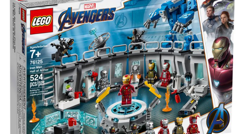 LEGO Marvel Avengers Endgame Sets 8 800x445