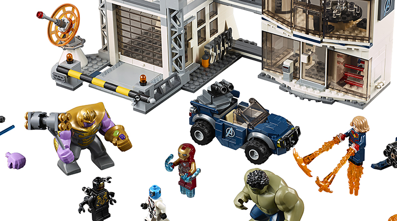 LEGO Marvel Avengers Endgame Sets Featured 800 445