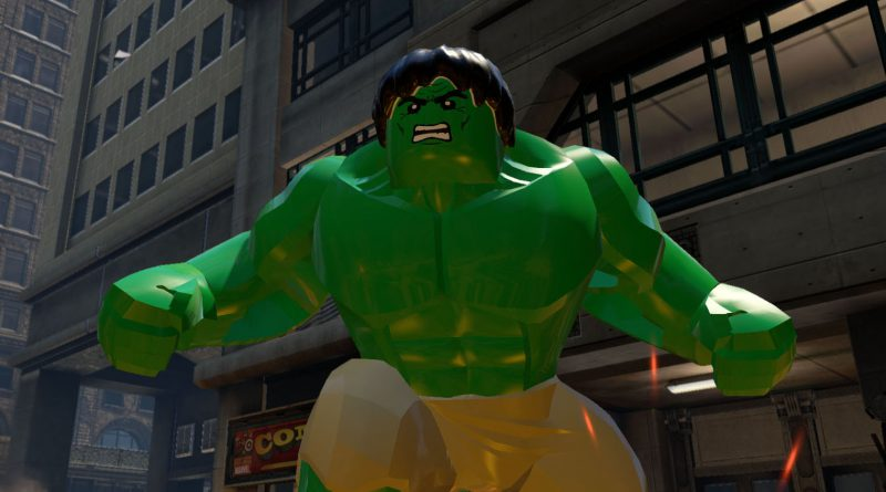 LEGO Marvel Collection featured 800 445