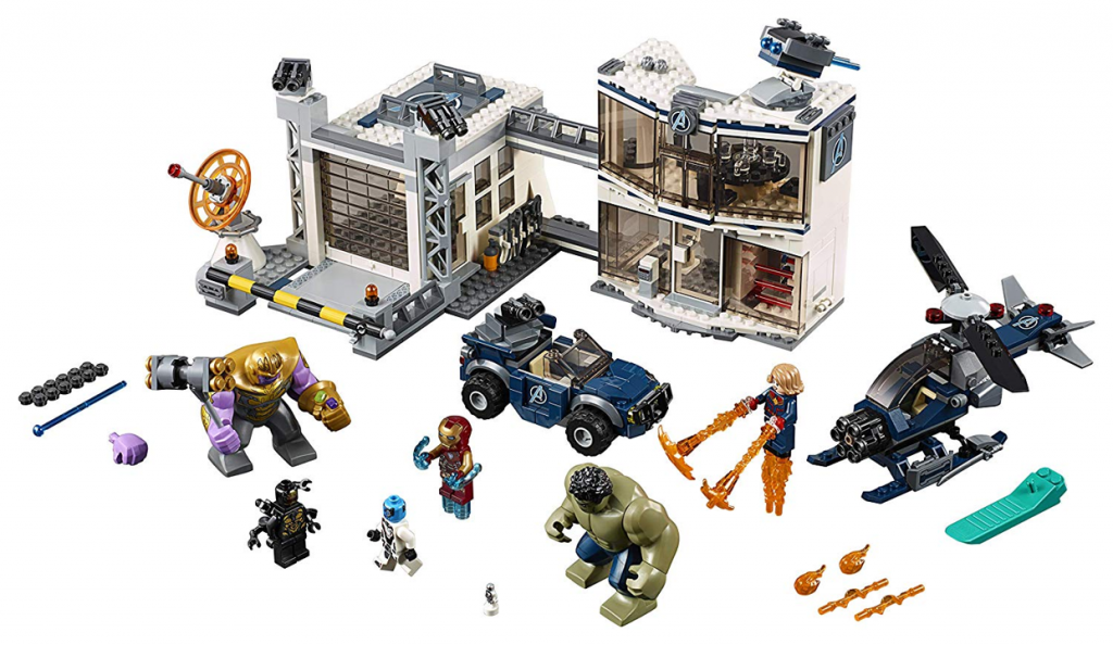 LEGO Marvel Endgame 76131 Avengers Compound Battle 1024x594