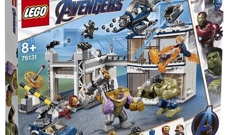 LEGO Marvel Endgame 76131 Avengers Compound Battle Box 750x445